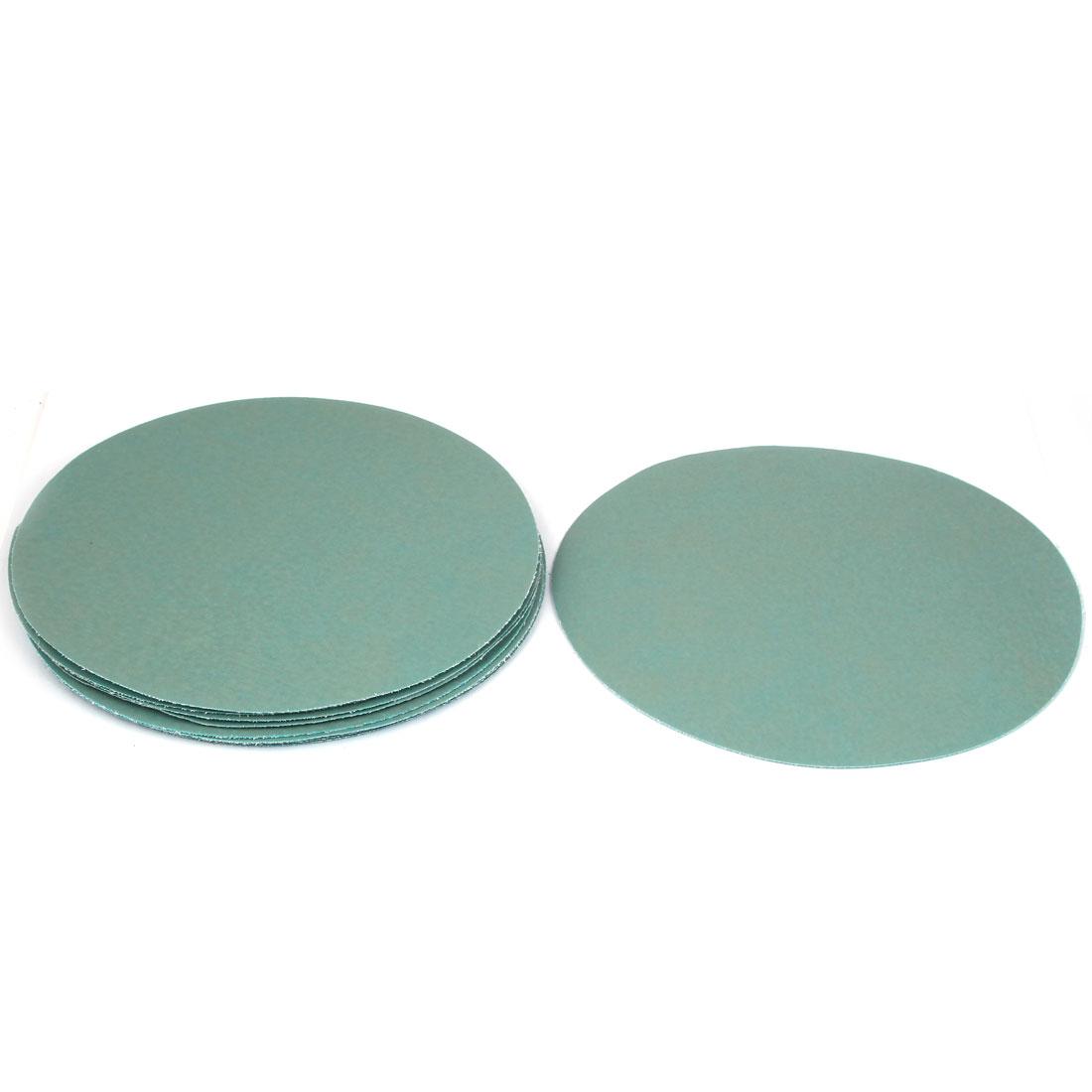 "8"" Dia Wet Dry Silicone Carbide 7000 Grit Polishing Sand Paper 10pcs"