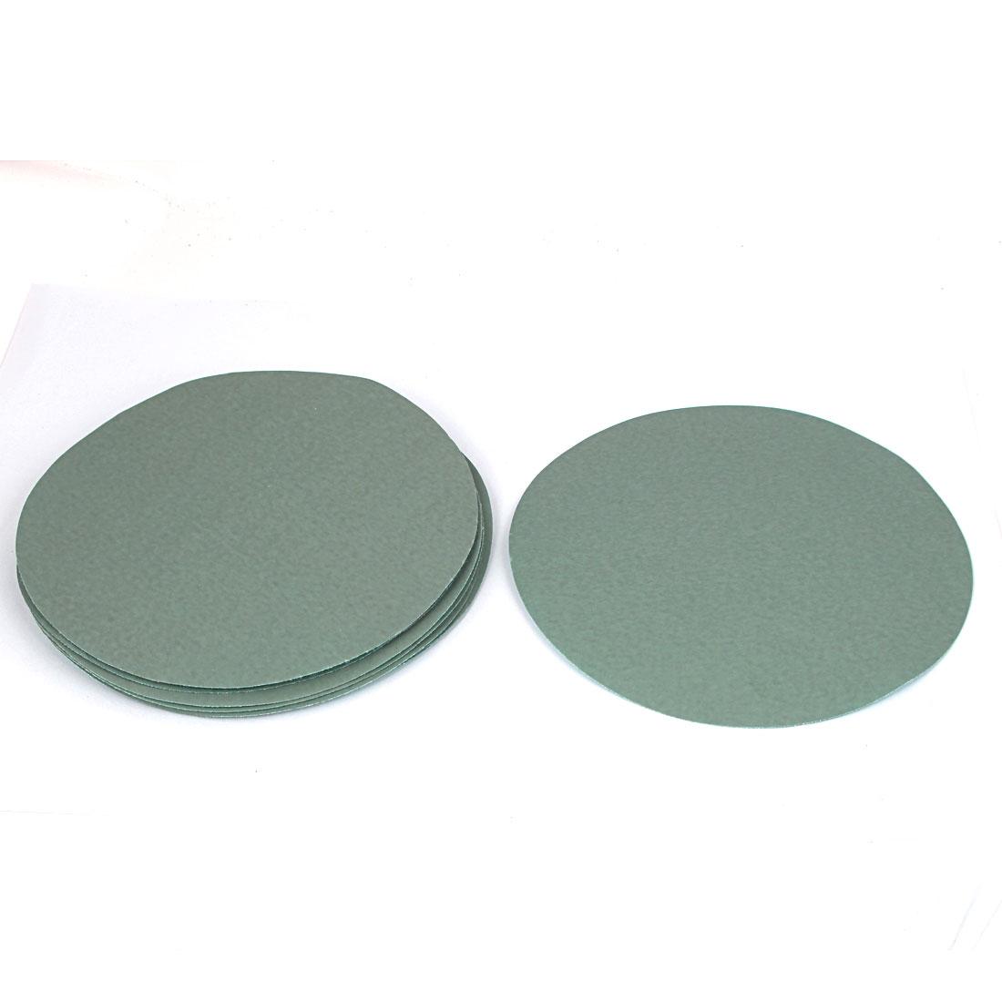 "7"" Dia Wet Dry Silicone Carbide 3000 Grit Polishing Sand Paper 10pcs"