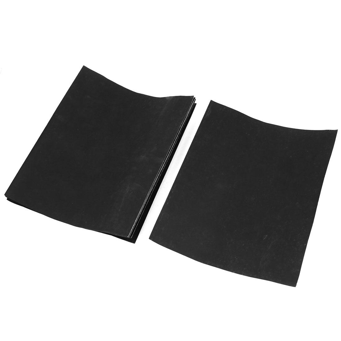 Wet Dry Abrasive Sandpaper Sheets Sand Paper Gray 1200 Grit 10pcs