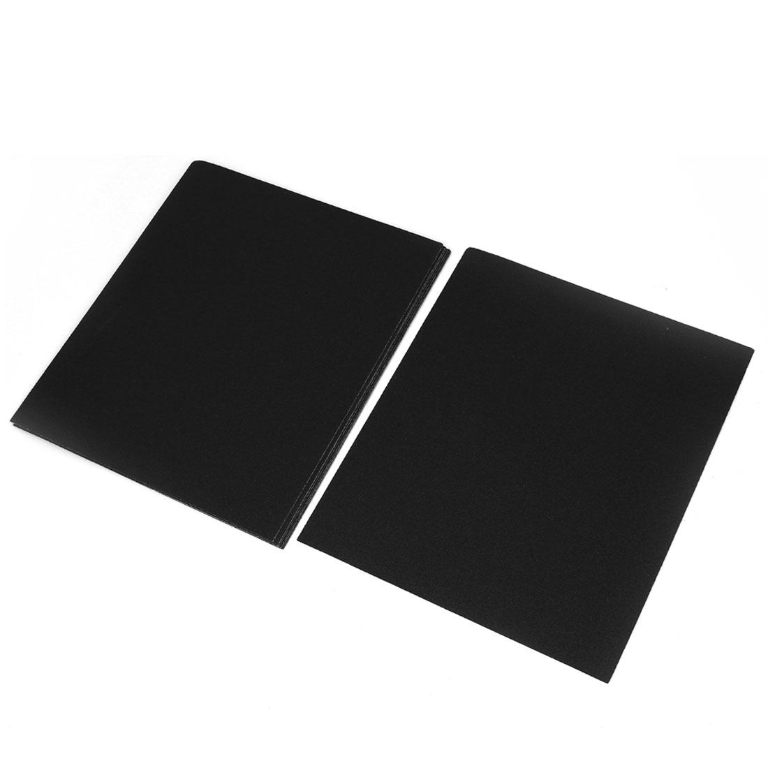 10 Pcs Wet Dry Silicone Carbide Abrasive Sandpaper Sheets 1000 Grit