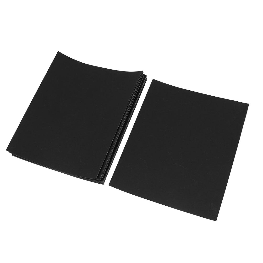 Manual Silicone Carbide Abrasive Sandpaper Sheets 800 Grit 20 Pcs