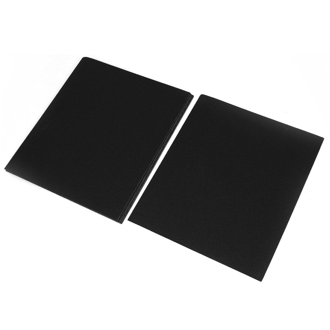 5pcs Abrasive Polishing Square Sandpaper Sheet Paper 120 Grit Gray