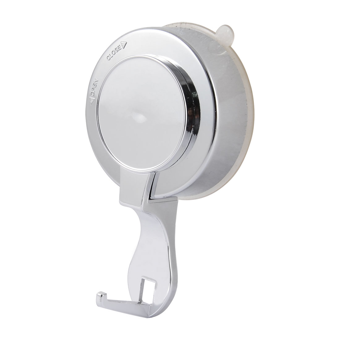 Kitchen Household Plastic Lock Strong Suction Cup Single Hook Holder Hanger