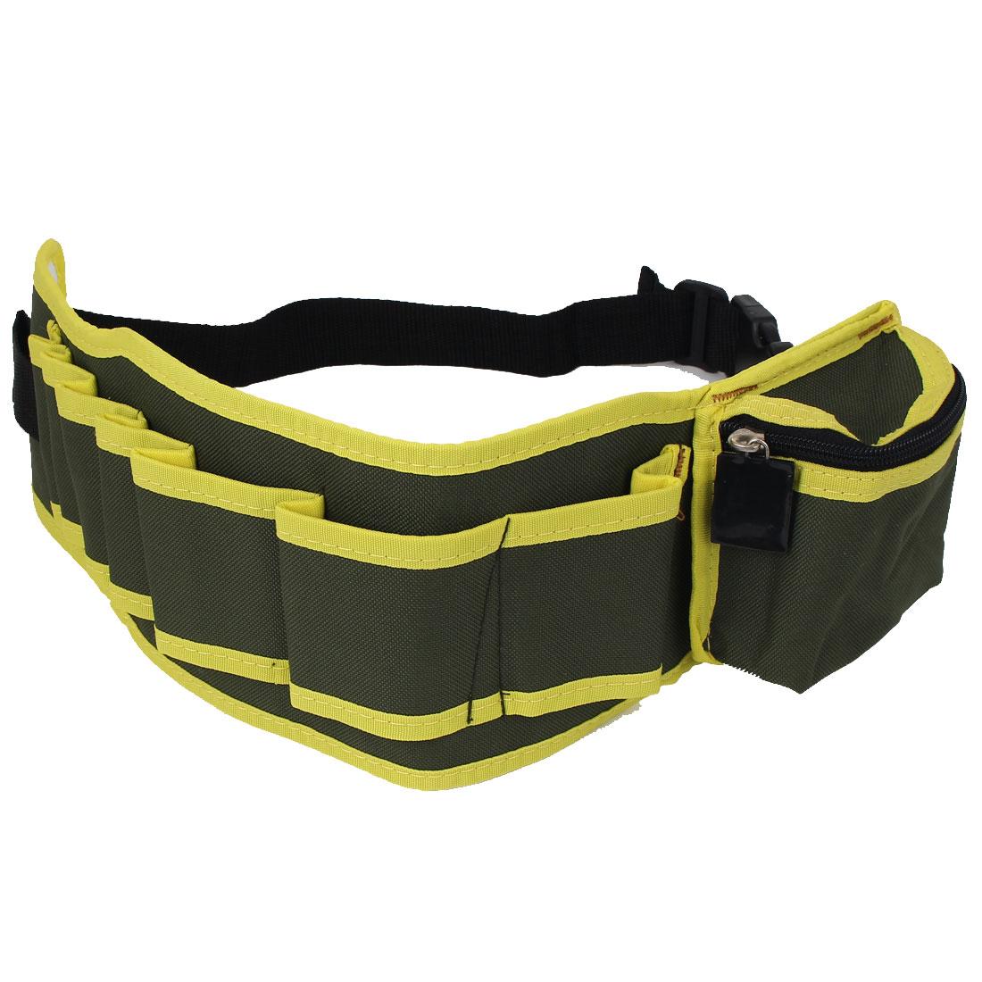 Electrician Adjustable Buckle Strap Pliers Scissors Tool Waist Belt Bag
