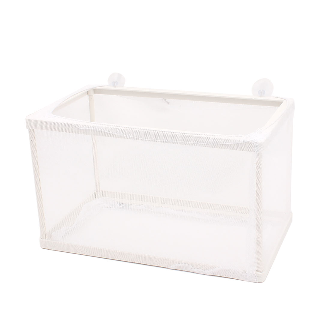 Aquarium Fish Tank Plastic Floating Isolation Divider Breeding Box Net