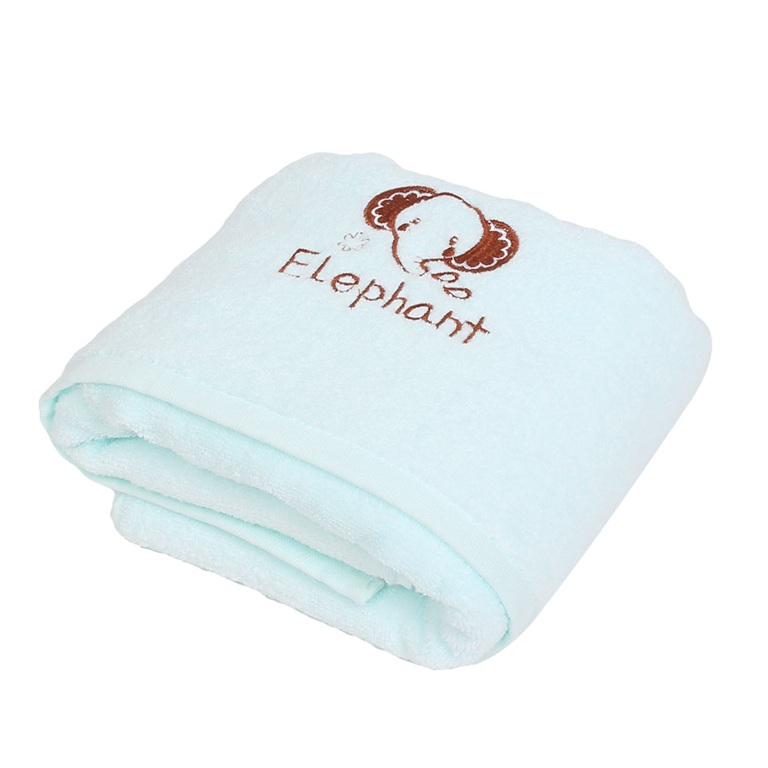 Travel Hotel Beach Shower Hair Drying Bath Towel Sheet Light Blue 120 x 60cm