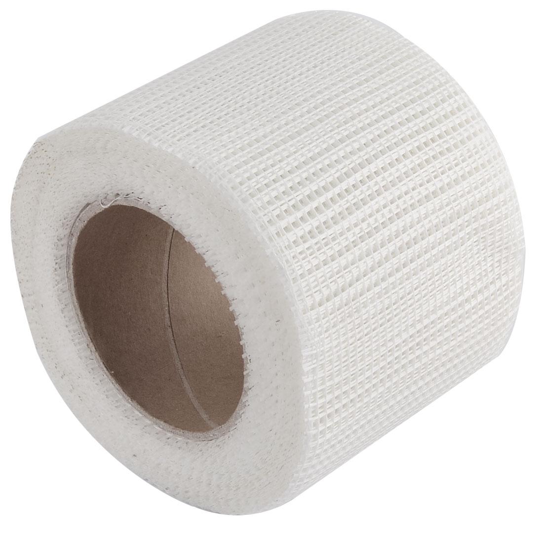 Sheetrock Drywall Self Adhesive Mesh Wall Repair Fabric Joint Tape Roll