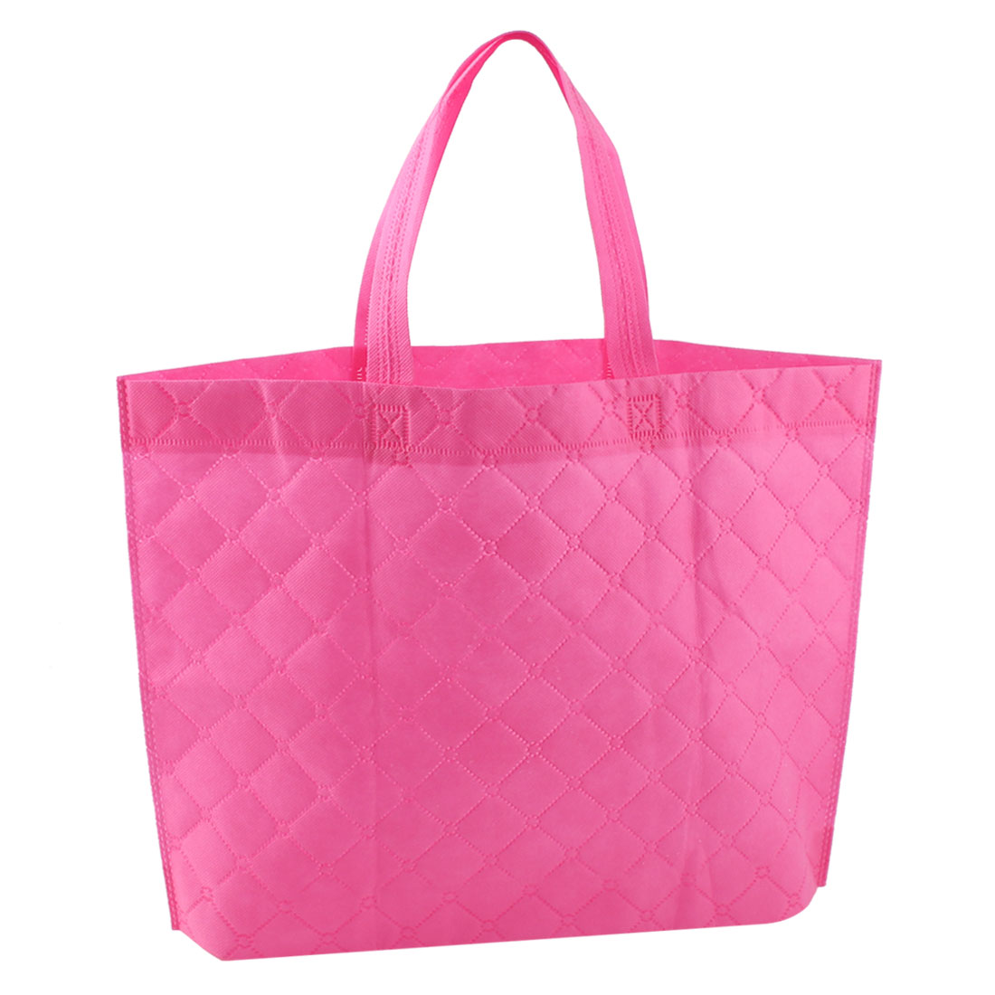 "16.9"" Length Non-Woven Enviromentally Pink Shopping Bag for Saving Resources"
