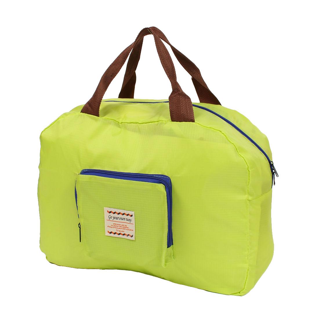 Travel Shopping Foldable Luggage Clothes Storage Bag Organizer Light Green