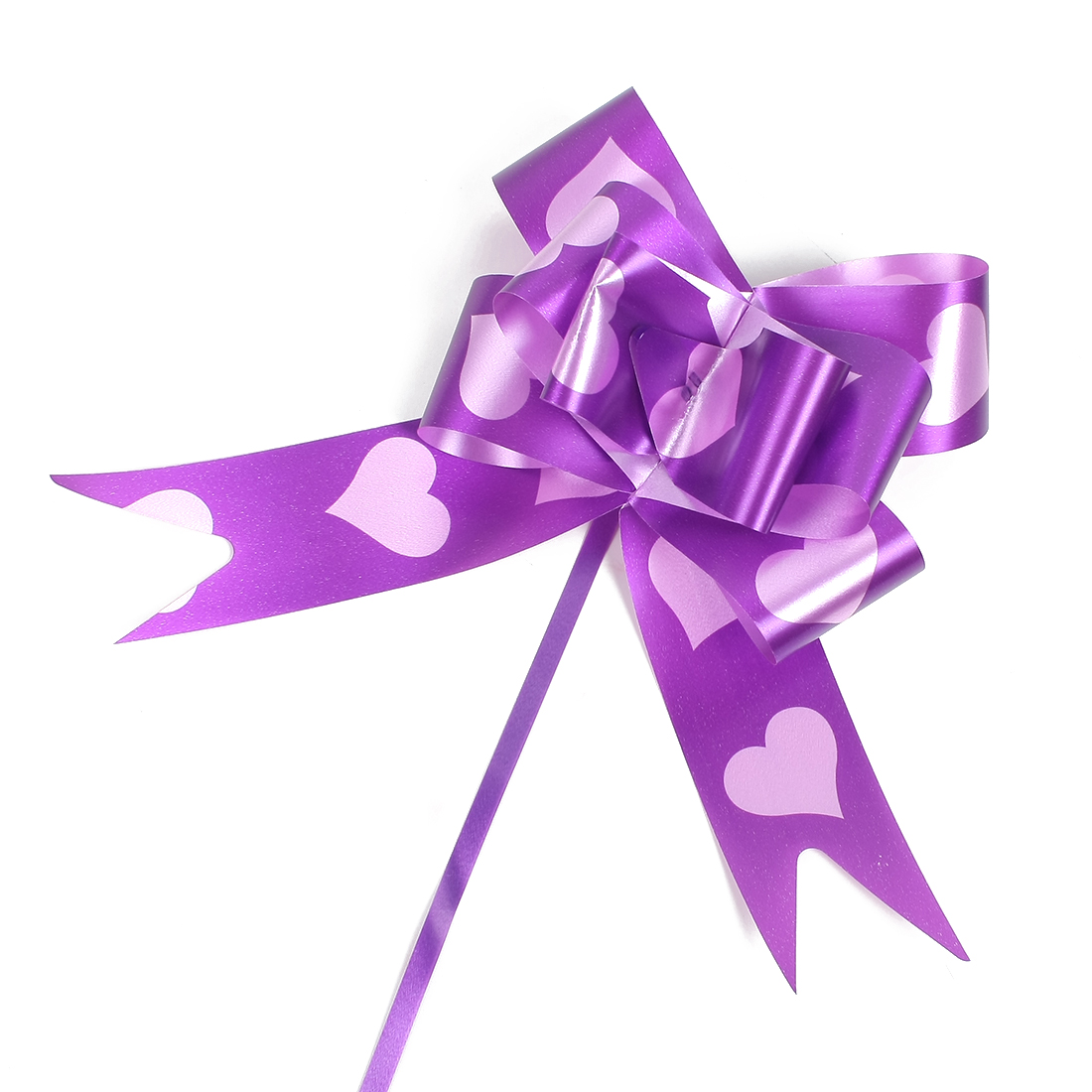 Wedding Party Gift Wrapping Ribbon Pull Bow Ornament 5cm Width 90pcs