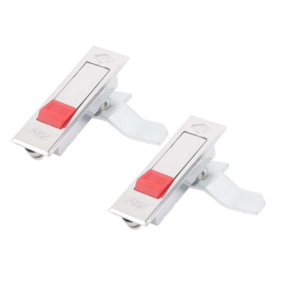 Distribution Box Push Button Pop Up Plane Type Cam Lock Lockset 2PCS