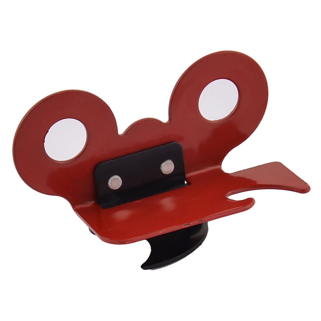 Kitchen Bar Metal Corkscrew Cap Lifter Wine Bottle Handheld Opener Red Black