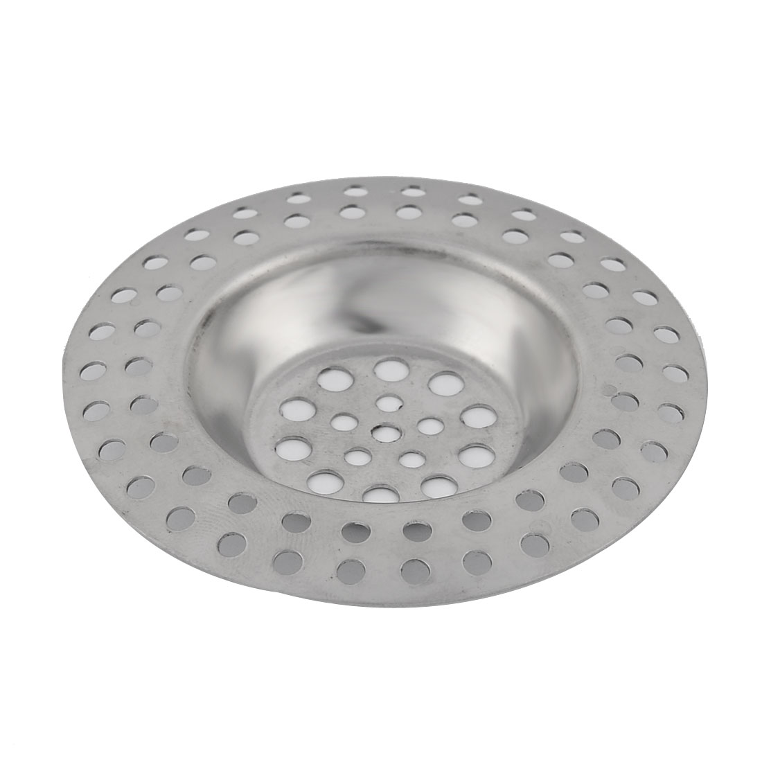 Home Bathroom Kitchen Metal Mesh Basket Sink Basin Drain Strainer Filter