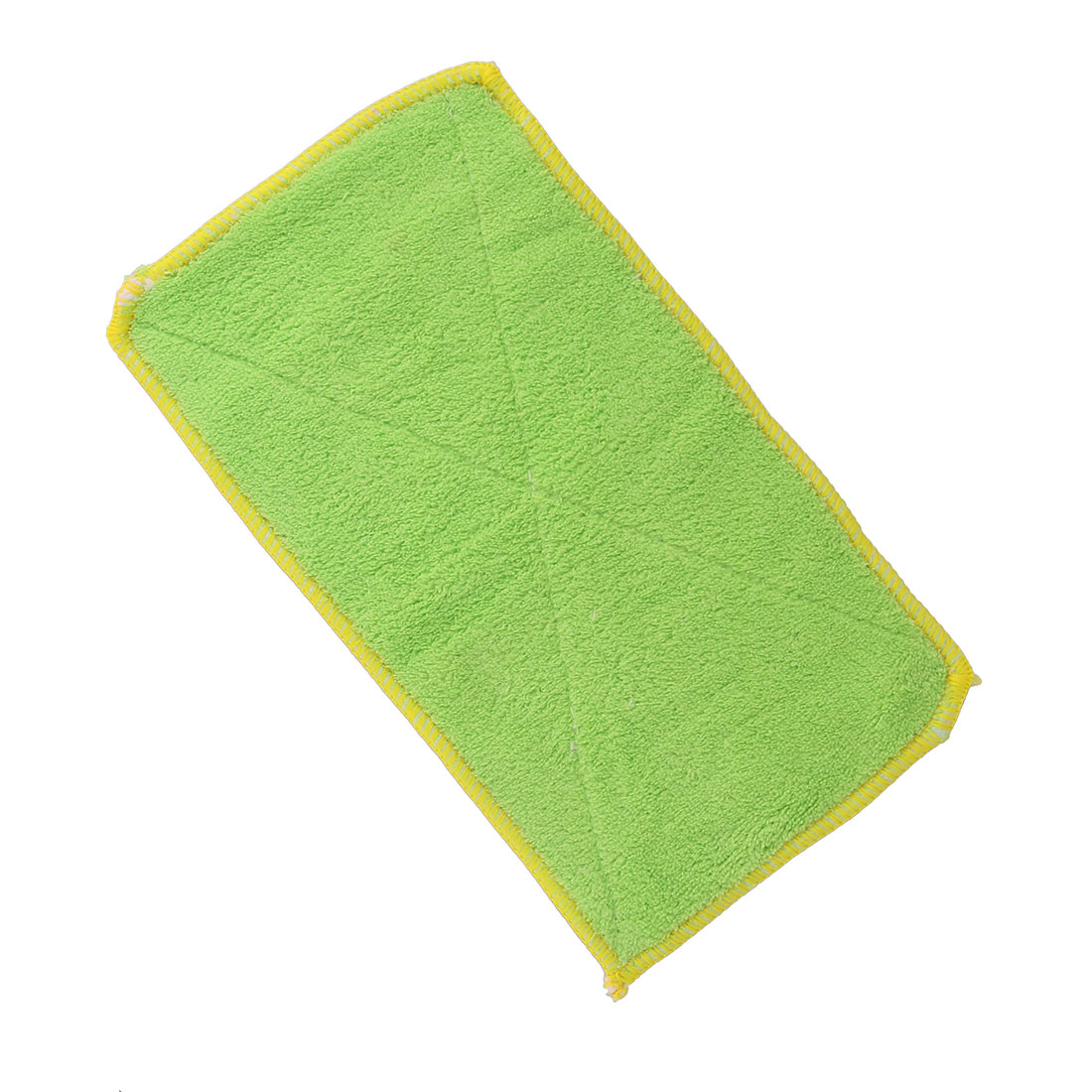 Kitchen Bamboo Fiber Bowl Pan Dish Wash Cloth Clean Towel Green 12cm