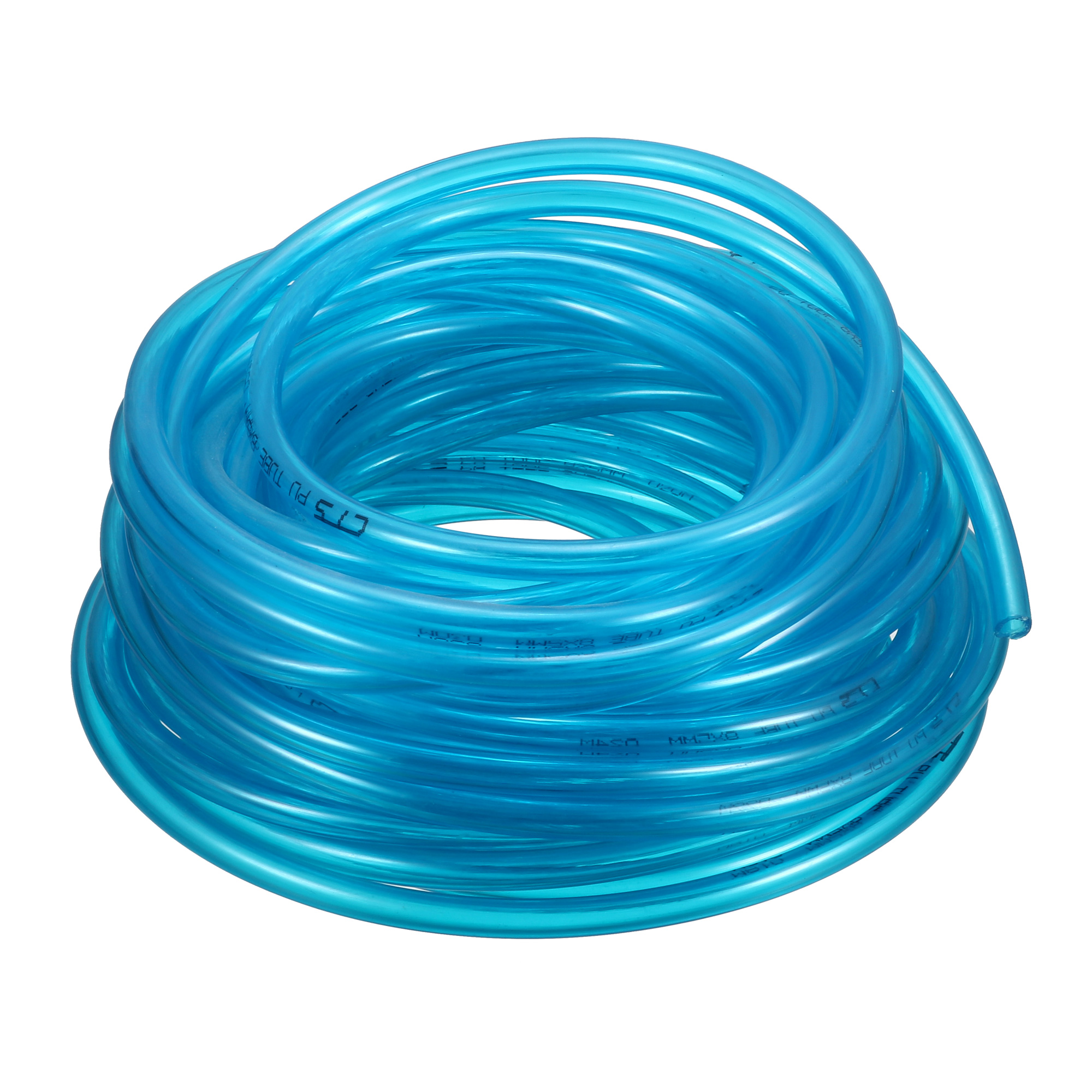 8mm OD x 5mm ID PU Pneumatic Air Tubing Pipe Hose 13 Meter 42.7ft Blue