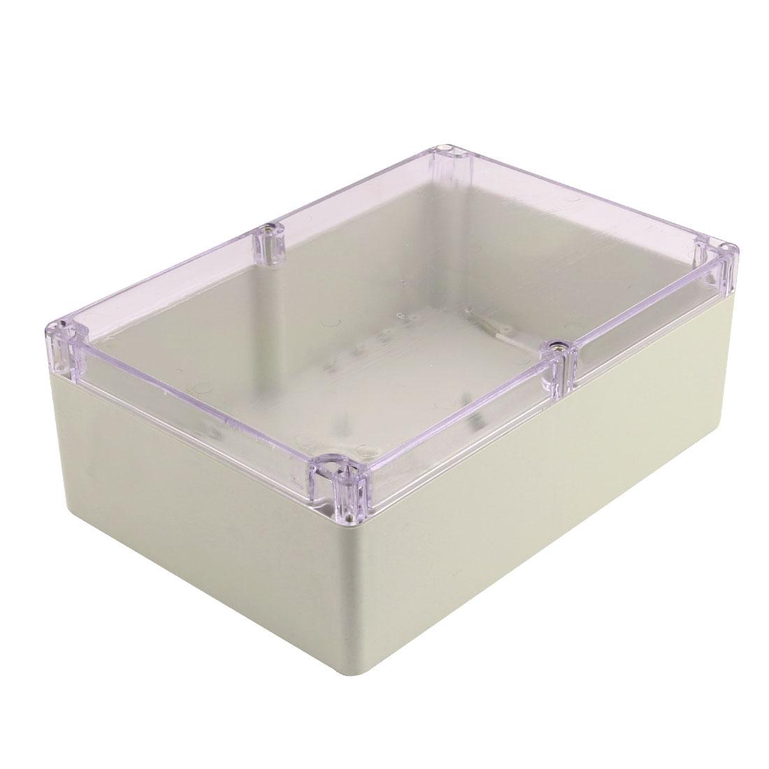 262mmx182mmx96mm Dustproof IP65 Plastic Enclosure DIY Junction Box Case