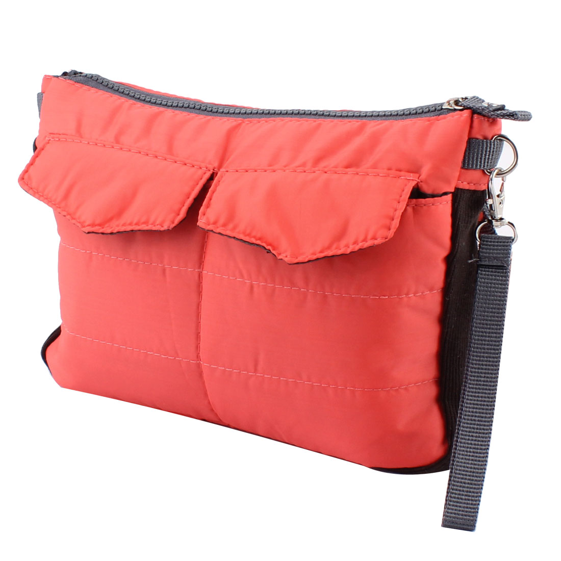 Orange Mini iPad Protective Sleeve Insert Handbag Gadget Pouch Organizer Storage Bag