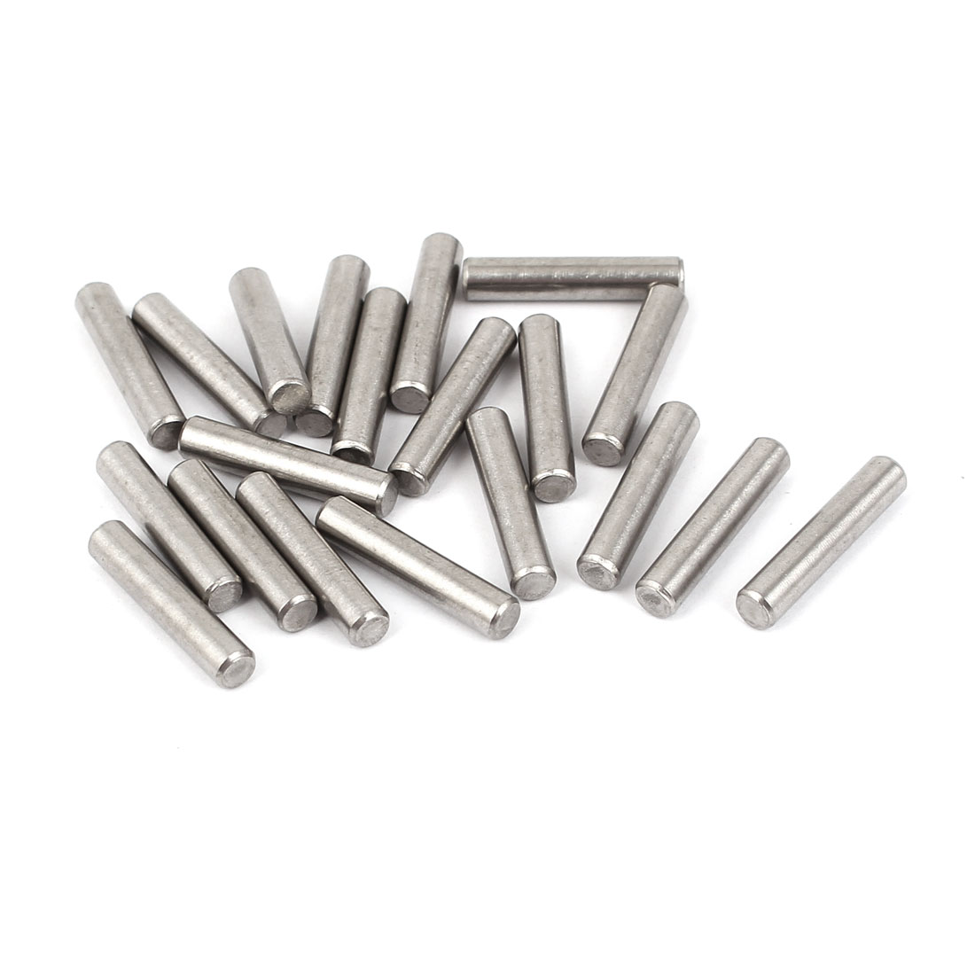 M4x20mm Stainless Steel Parallel Dowel Pins Fastener Elements 20pcs