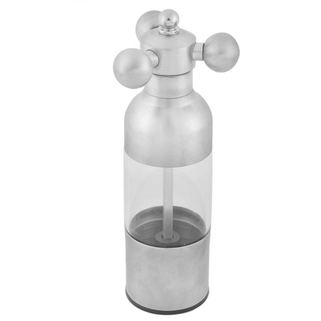 Household Kitchen Faucet Design Salt Pepper Spice Mill Grinder Shaker Pot
