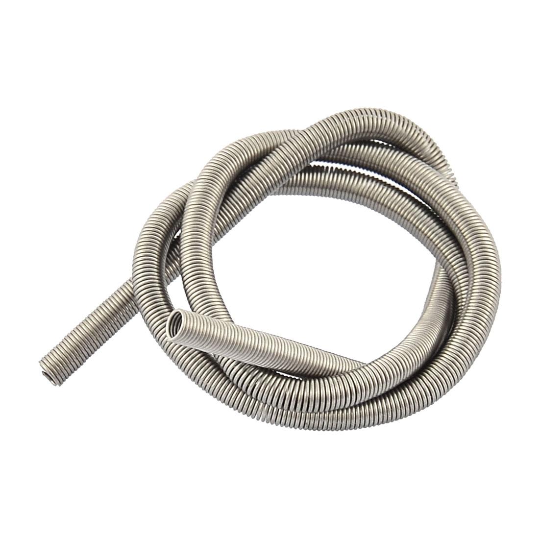 800W Kilns Furnaces Metal Heating Element Coil 35.5cm Long Silver Tone