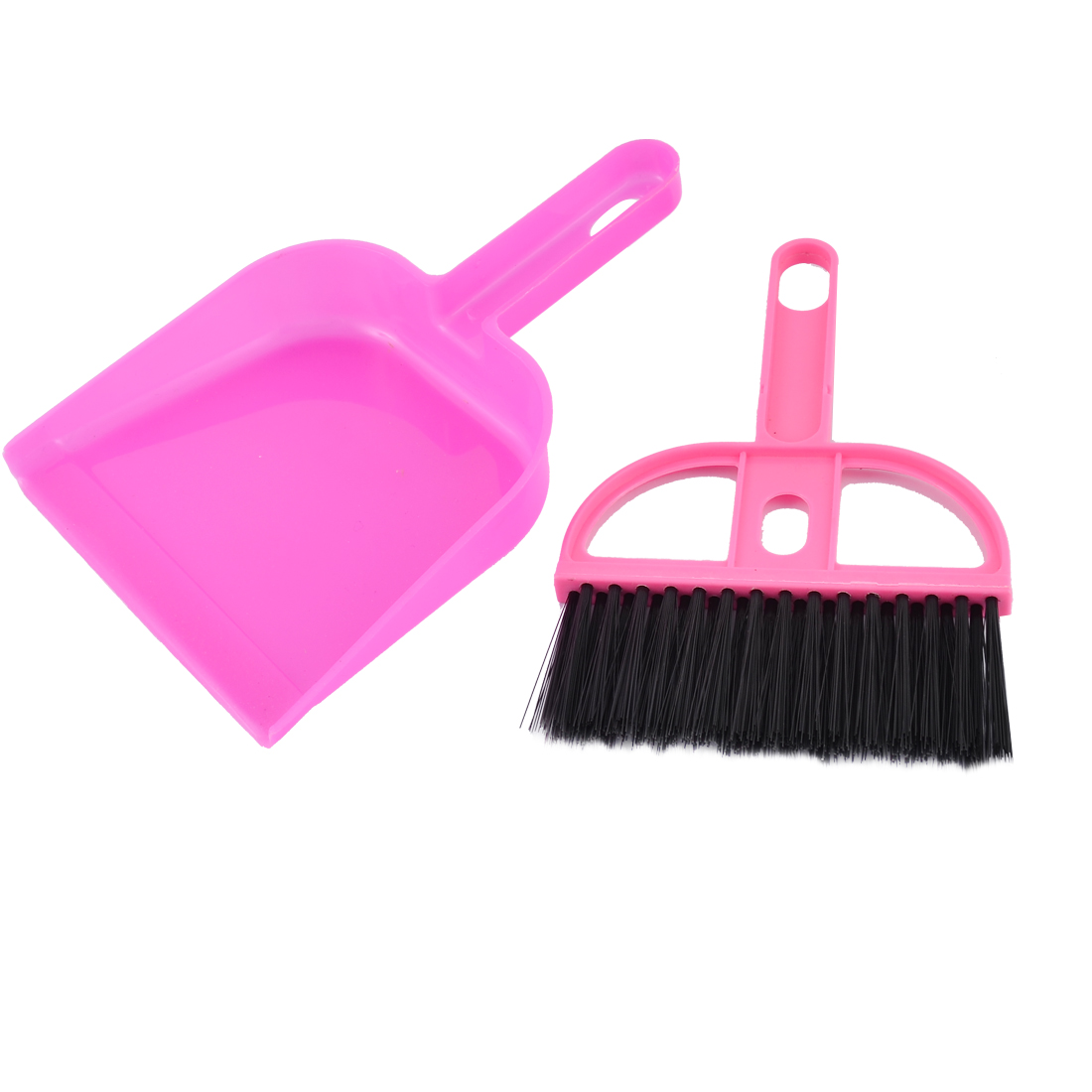 Computer Keyboard Restaurant Table Plastic Cleaning Kit Mini Brush Dustpan Set