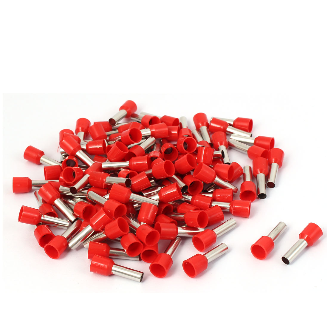 E6012 Tube Style Cable Wire Ends Sleeve Crimp Insulated Terminal 200pcs