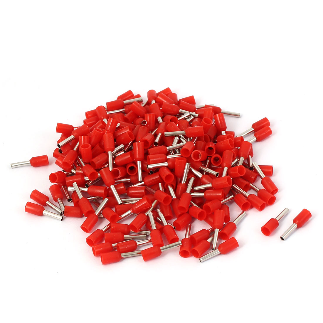 E1008 Tube Style Electric Wire Heads Sleeve Crimp Insulated Terminal 200pcs