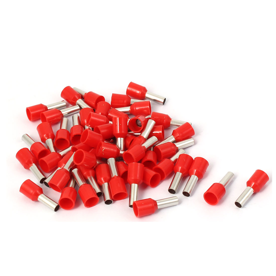 E4009 Tube Style Electrical Cable Wire Ends Crimp Insulated Terminal 50pcs