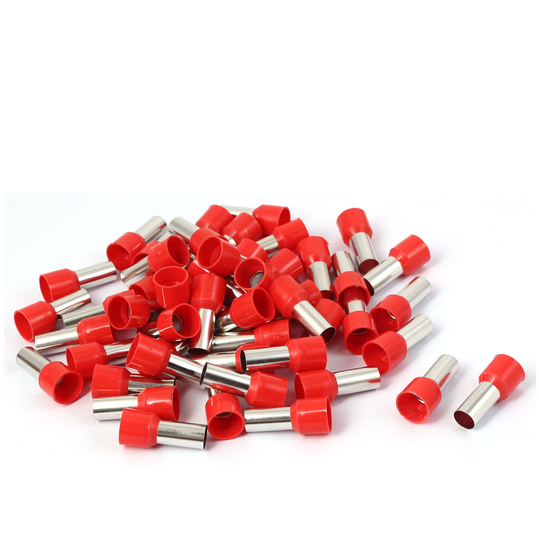 E25-16 Electrical Cable Wire Ends Connector Crimp Insulated Terminal 46pcs