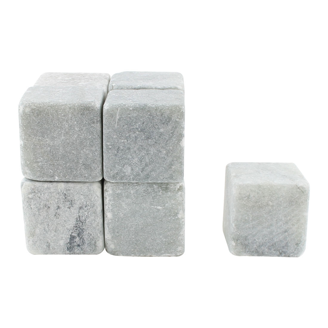 Home Soapstone Beer Wiskey Beverage Chilling Frozen Stones 9pcs