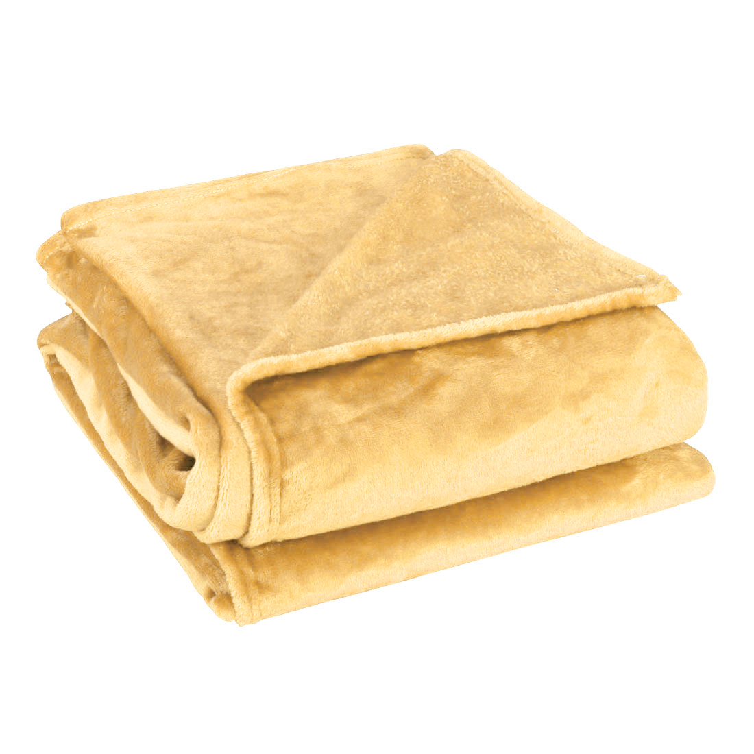 1.5 x 2M Twin Size Home Bedroom Bed Sofa Warm Plush Couch Throws Blanket Soft Yellow