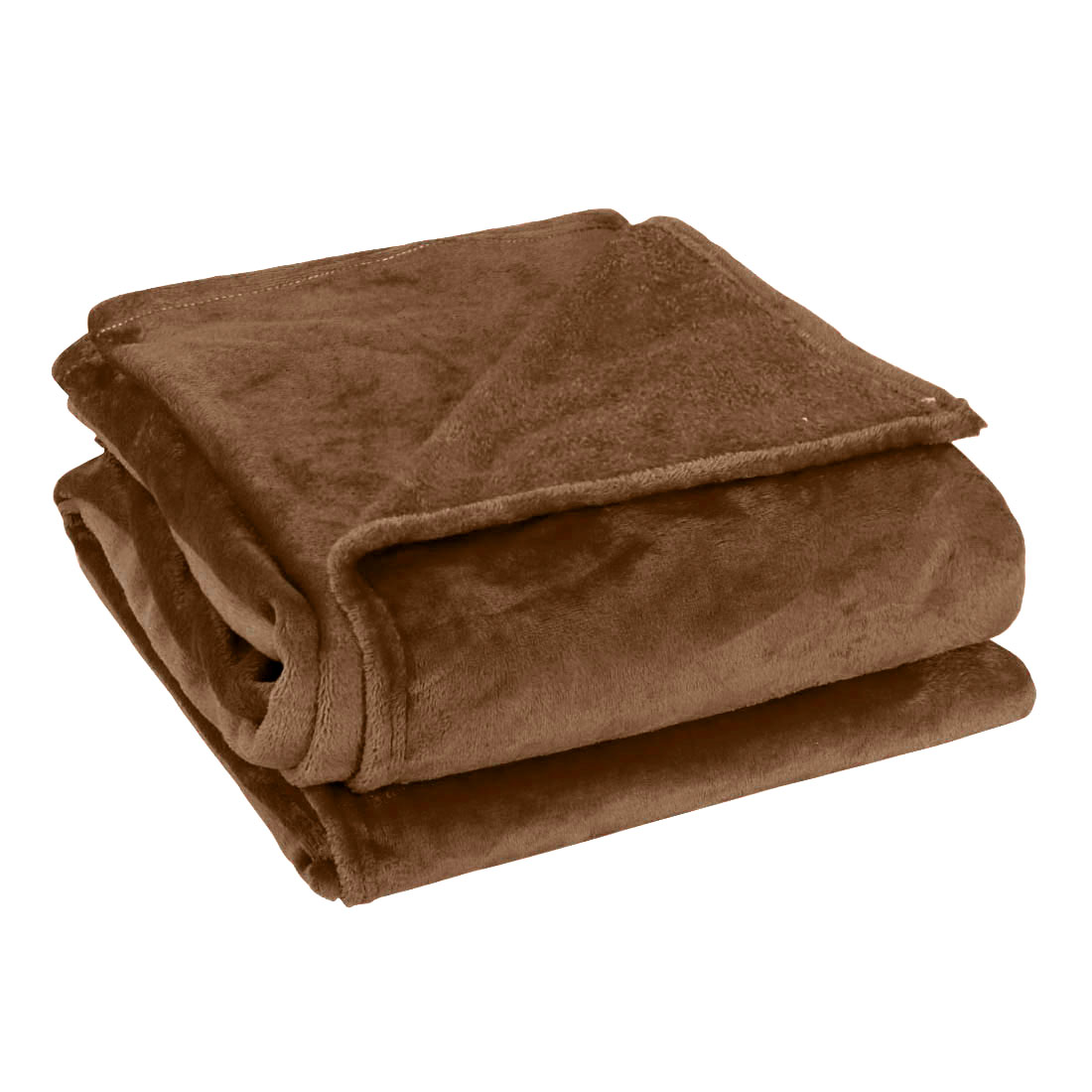 Full Size Home Bedroom Bed Sofa Warm Plush Couch Throws Blanket Soft Chocolate Color 180 x 200cm
