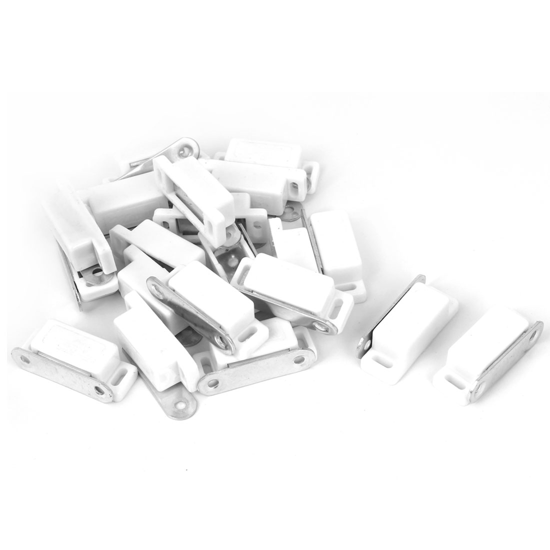 46mmx15x14mm Cabinet Door Stopper Magnetic Catch Stop Self-Aligning Magnet 20pcs