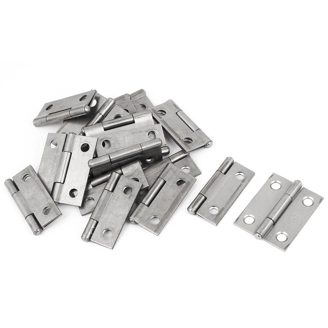 "1.5"" Long Iron Hinge 18pcs for Cabinet Drawer Door"