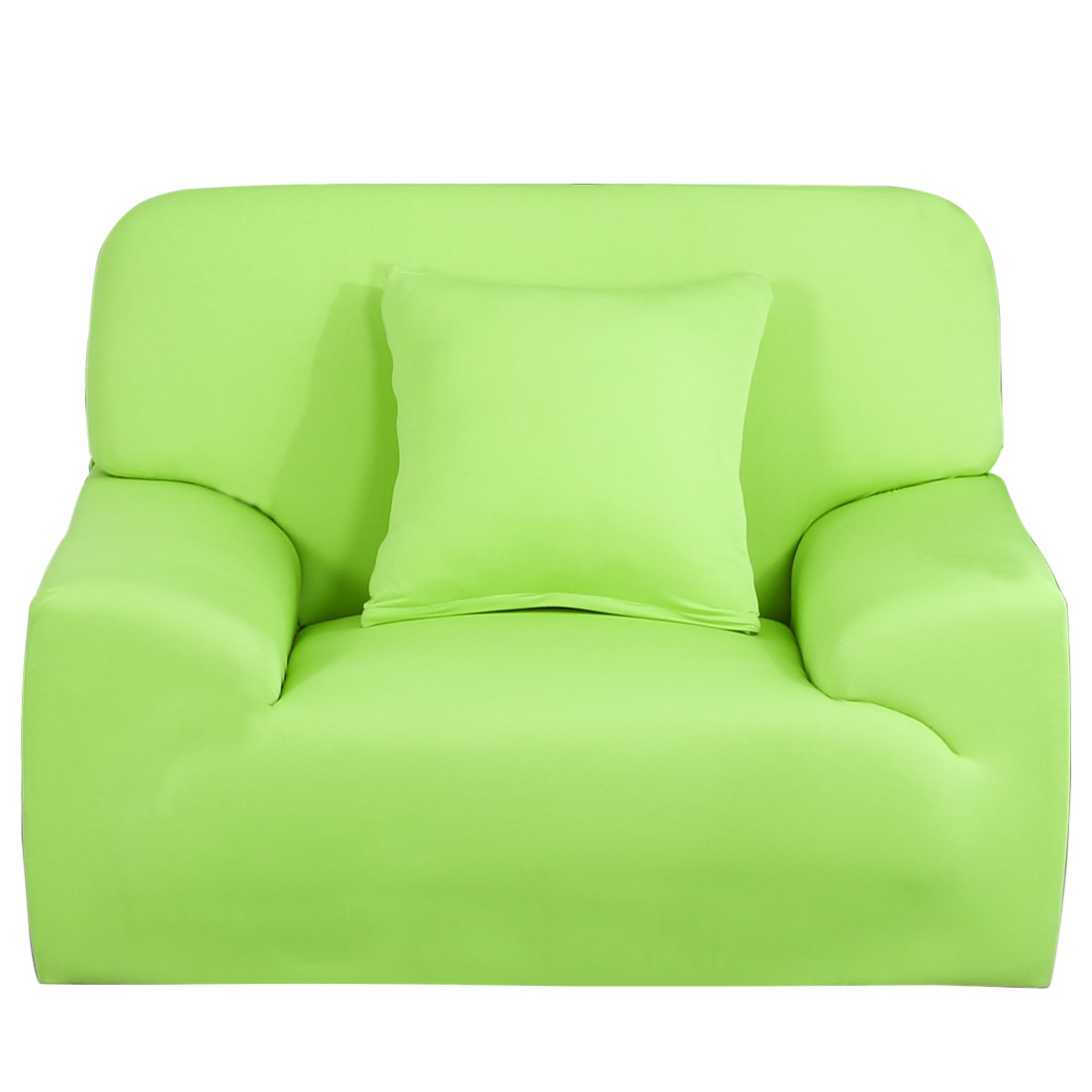 Household Sofa Chair Elastic Strap Stretch Cover Slipcover Green 35''-55''