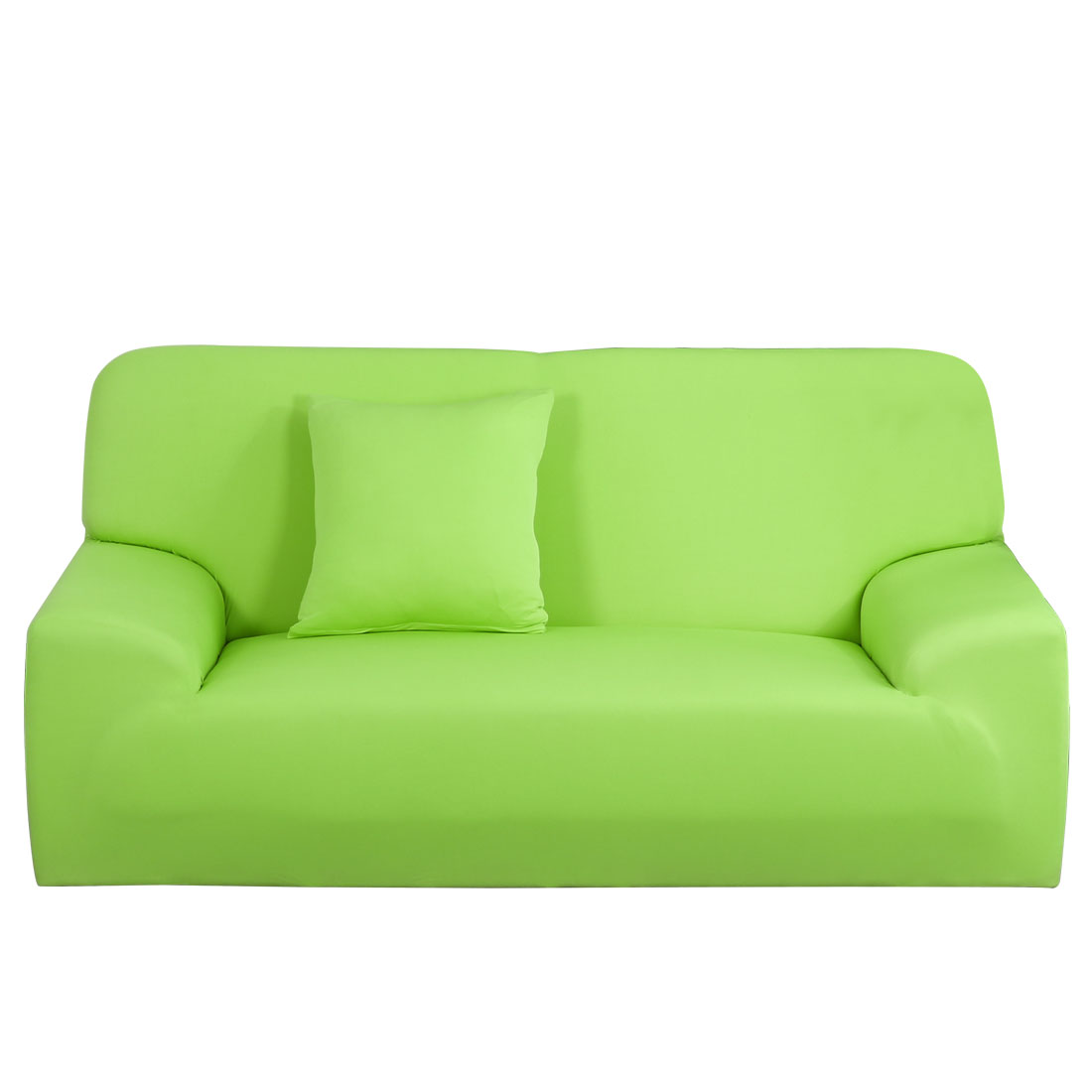 Stretch Sofa Slipcovers Sofa Covers 2 Seater Protectors Couch 55-74 Inches Green