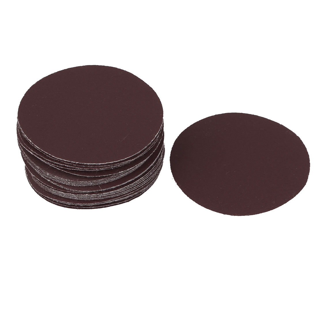"3"" Dia 320 Grit Round Sanding Paper Disc Sandpaper 25pcs for Oscillating Tool"