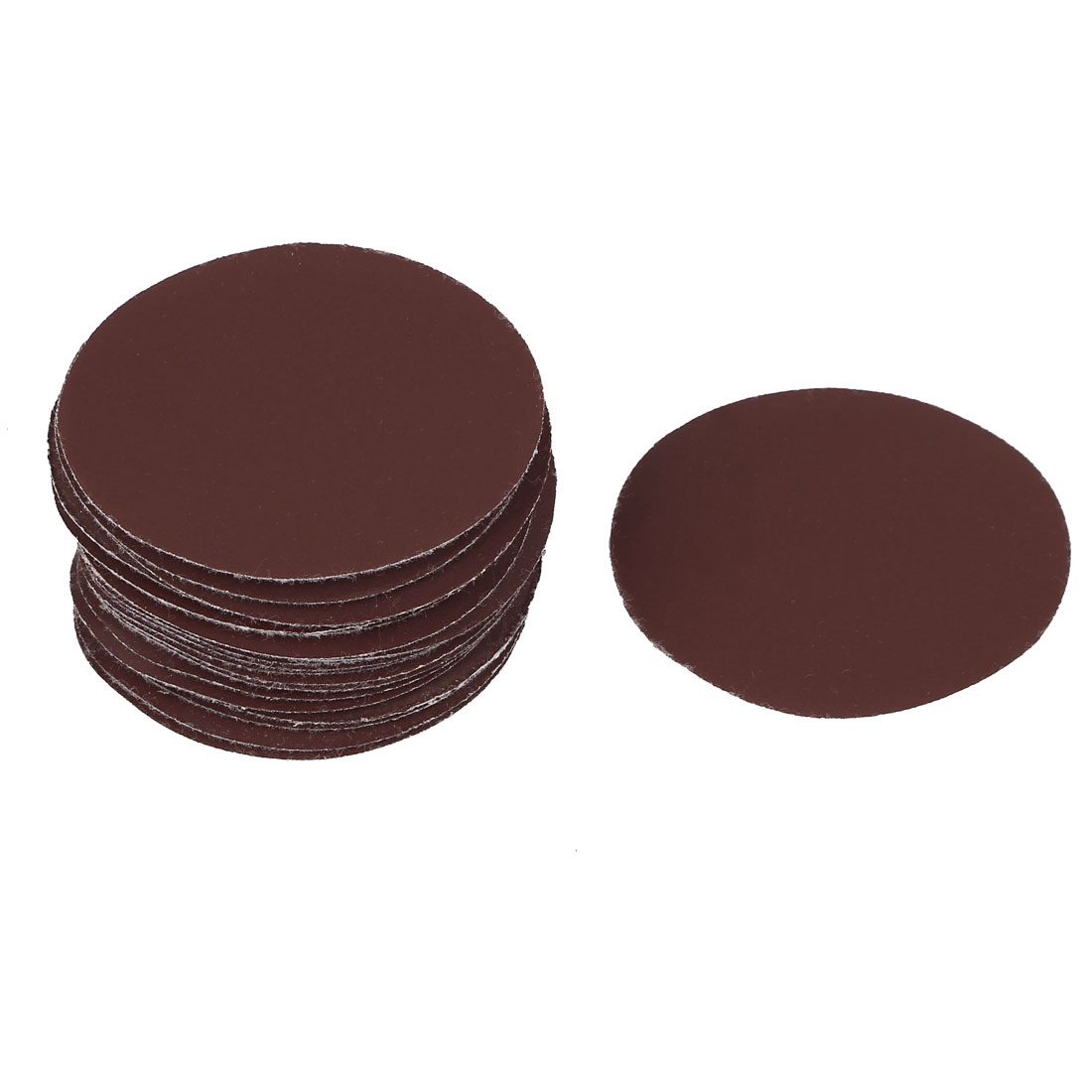 "3"" Dia 800 Grit Round Sanding Paper Disc Sandpaper 25pcs for Oscillating Tool"