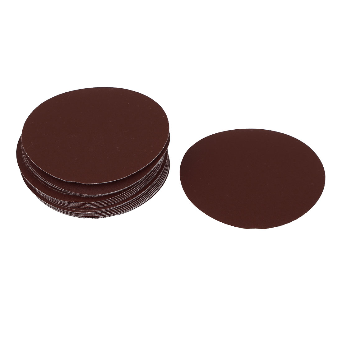 "4"" Dia 320 Grit Round Sanding Paper Disc Sandpaper 25pcs for Oscillating Tool"