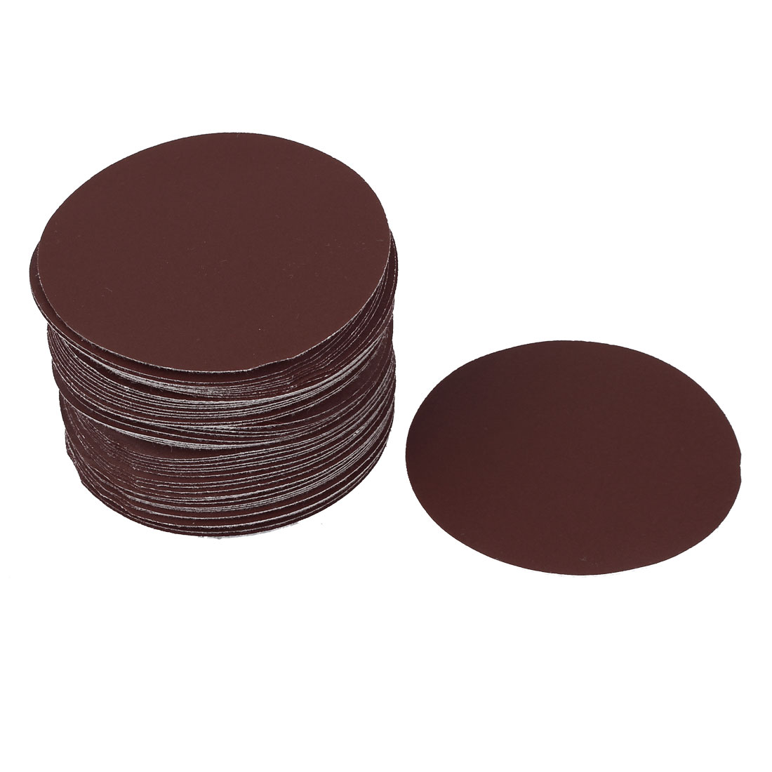 "4"" Dia 320 Grit Round Sanding Paper Disc Sandpaper 50pcs for Oscillating Tool"