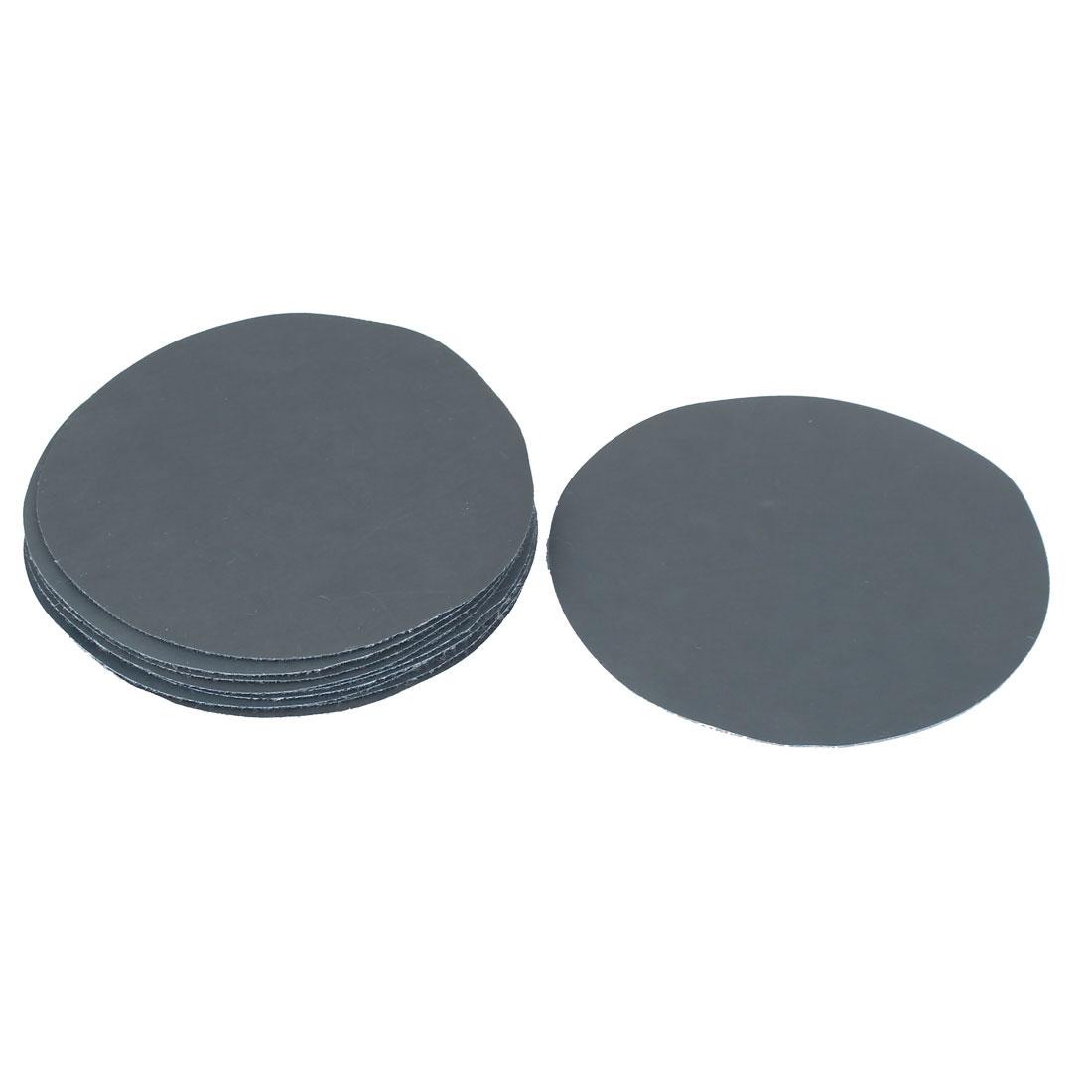 "4"" Dia 3000 Grit Abrasive Round Sanding Disc Sandpaper 10pcs for Oscillating Tool"