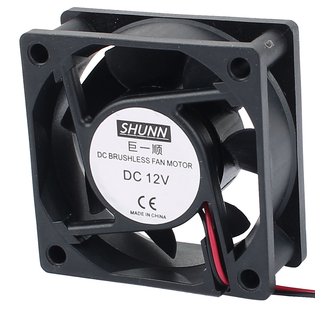 DC12V 60mmx60mmx24mm 7 Vanes DC Brushless Fan Motor PC Case Cooling Fan Cooler