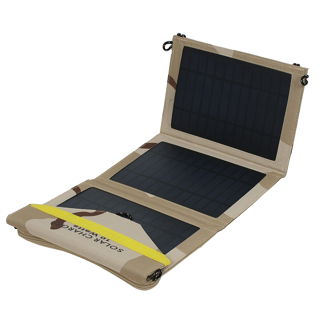 10W One Ports USB Foldable Solar Panel Charger for Smart Phone Portable Pad More Camouflage