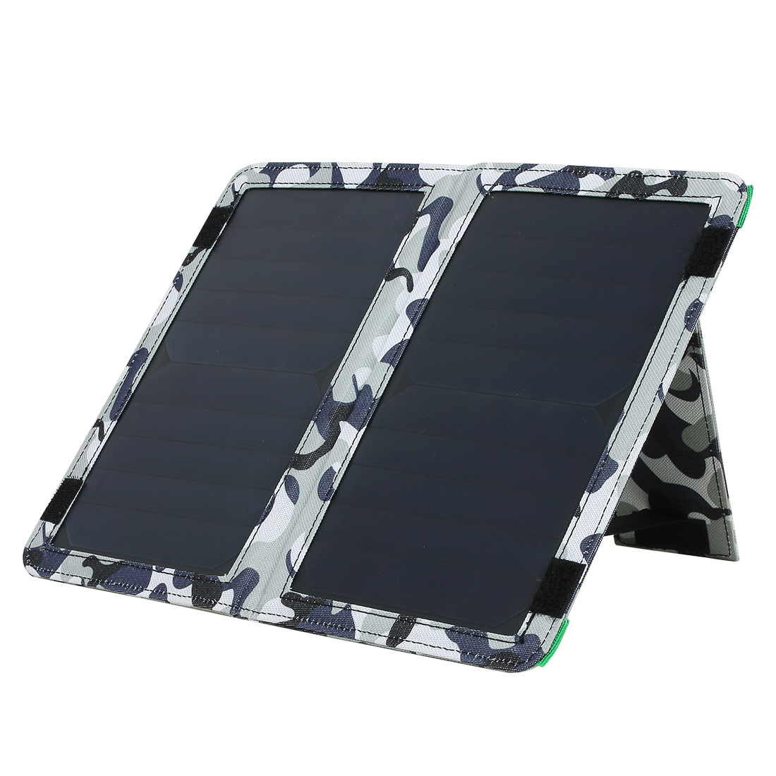 10W Single Ports USB Foldable Solar Panel Charger for Smart Phone Portable Pad More Camouflage