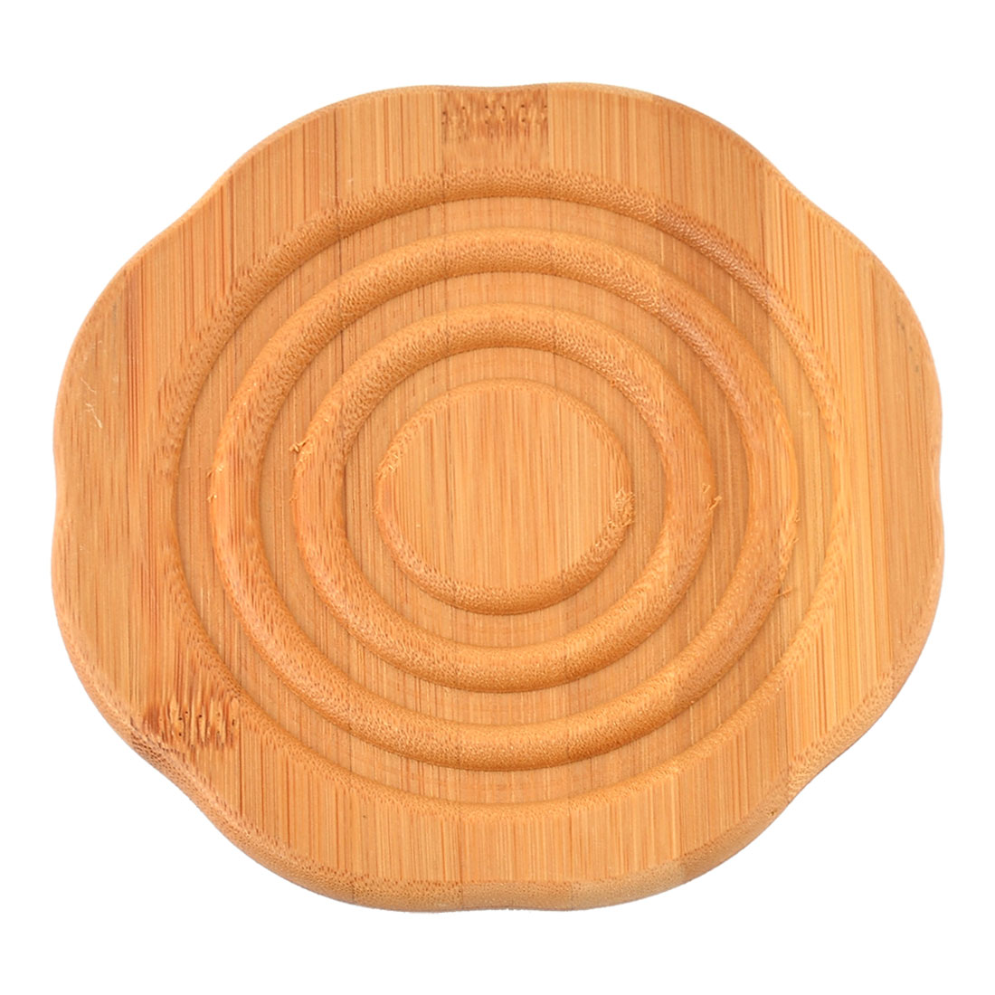 Bamboo Round Shape Heat Resistant Kitchen Table Pot Cup Mat Cushion