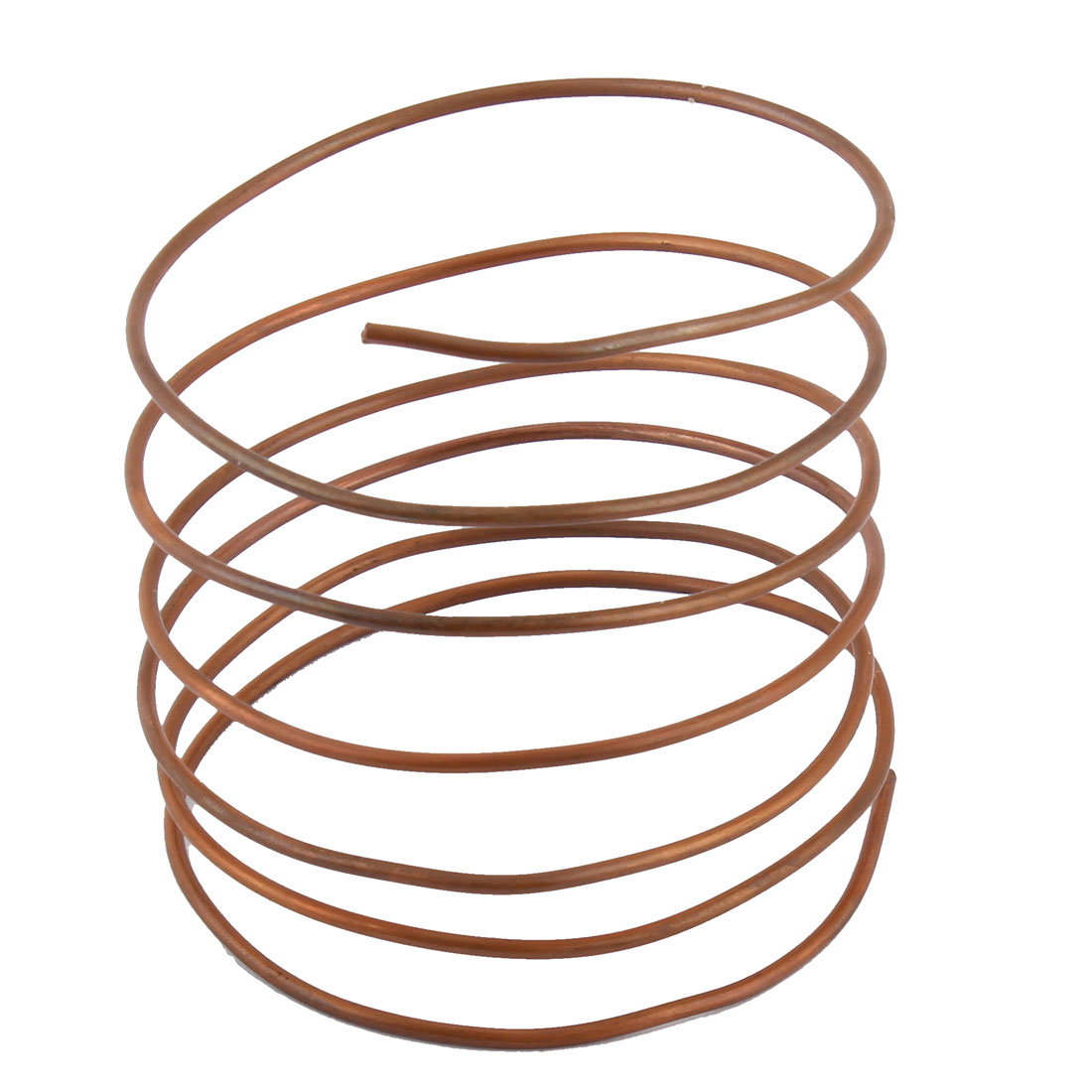 1.4M Length 1.8mm Diameter Copper Refrigeration Tubing Tube Pipe Coil