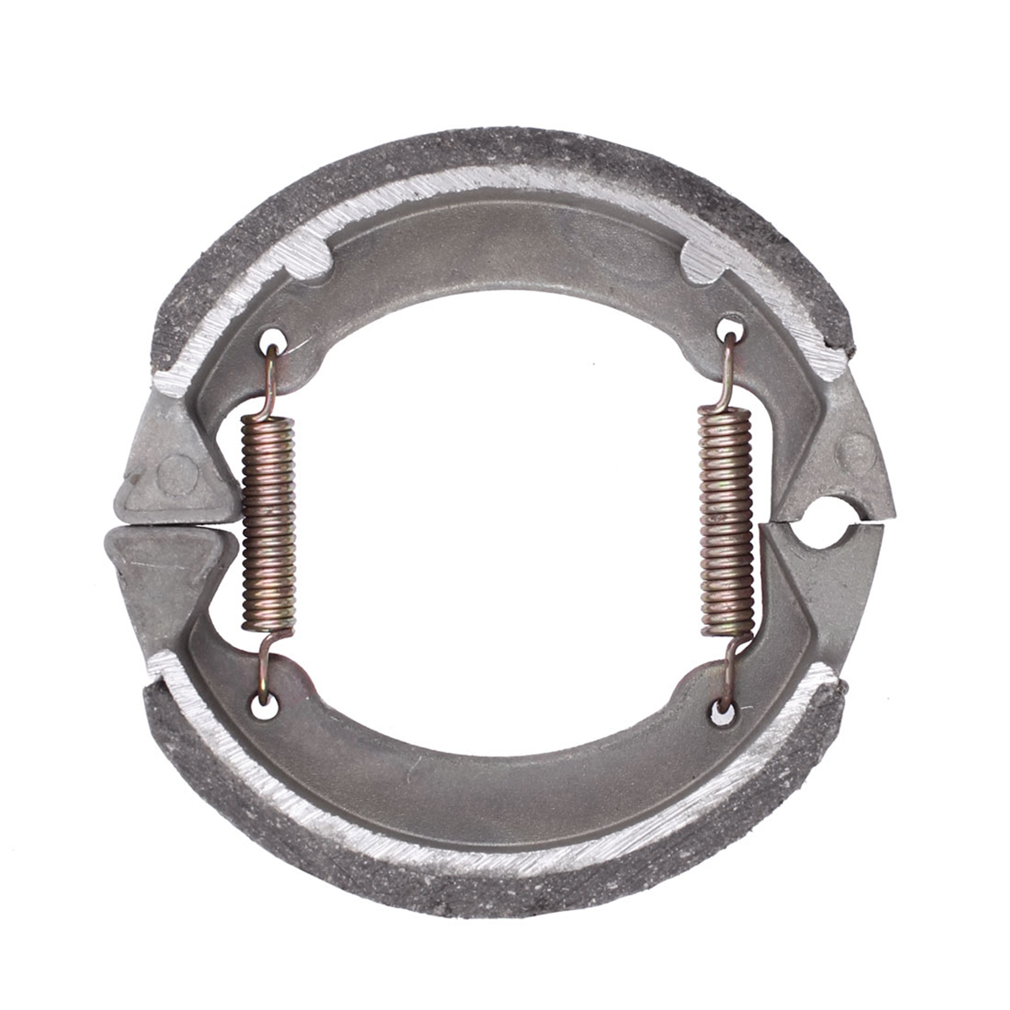 Metal Spring Motorcycle Motorbike Brake Shoe Drum Pad 75mm x 75mm x 20mm