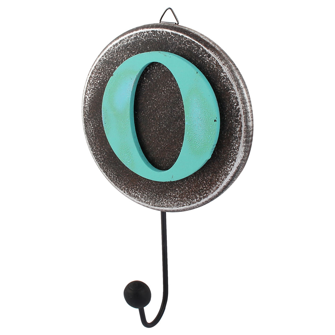 "Home Decorating Creative Retro Style Letter ""O"" Pattern Calendars Hanger Hook"