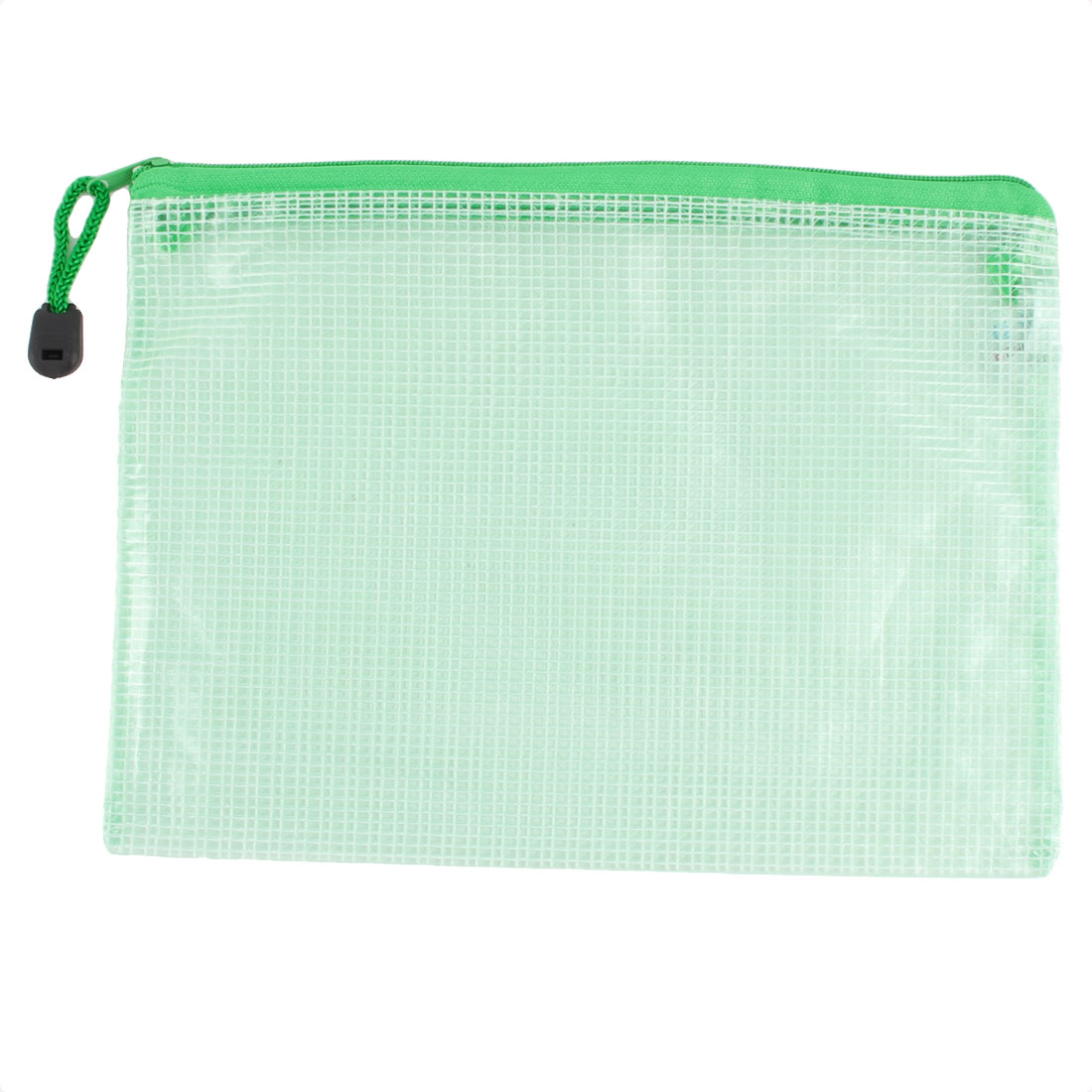 School Office Document Pen Pencil File Folder Holder Bag Green 24 x 17cm