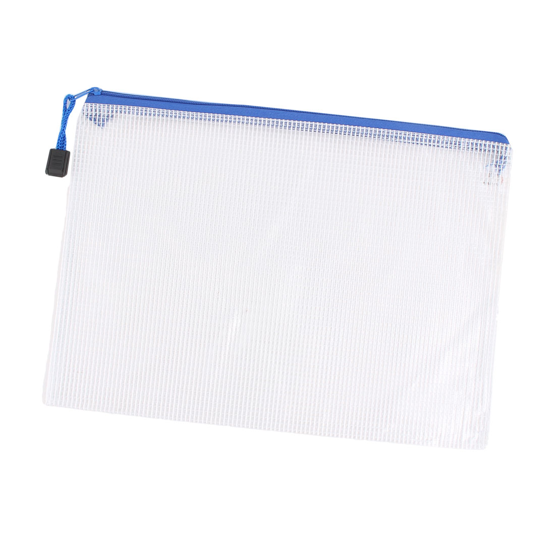 School Office A5 Magazine Document File Zippy Closure Folder Holder Bag White